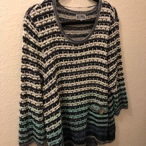 Summer tunic sweater